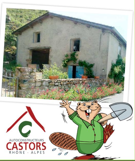 Visite de chantier à Émeringes dans le Beaujolais (69)